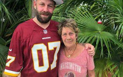 Washington Redskins fever — a lifelong family affair