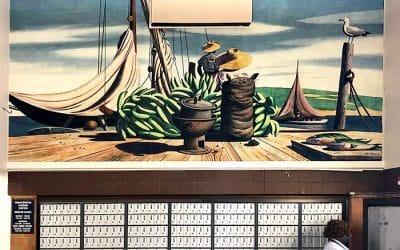 Legendary Murals Showcased In Island Post Office